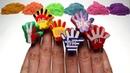 Учим цвета с Кинетическим песком Киндер Сюрпризы штампы флаги стран коллекция