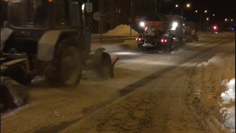Механизированная очистка дорог