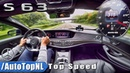 315km/h Mercedes-AMG S63 4Matic AUTOBAHN TOP SPEED by AutoTopNL