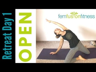 Opening Yoga for Your Pelvic Floor | At-Home Retreat, Day 1 (START HERE)