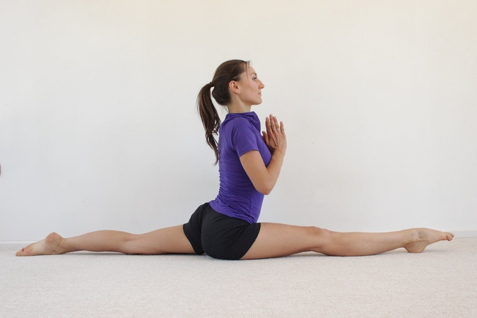 Виньяса флоу йога | Шпагат для начинающих | Хануманасана