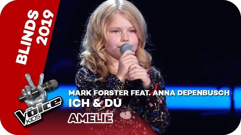 Mark Forster feat Anna Depenbusch Ich Du Blind Auditions The Voice Kids 2019 SAT 1