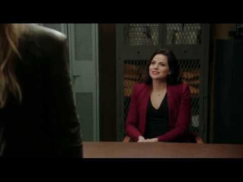 Эмма и Дэвид допрашивают Реджину 2x10