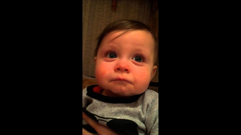 Baby emotionally moved by Bocelli song to Elmo