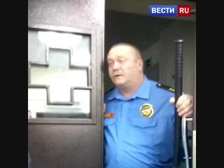 Ссора двух девушек и охранника костромского травмпункта попала на видео
