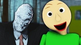 Slender Man vs. Baldi's Basics - Video Game Rap Battle