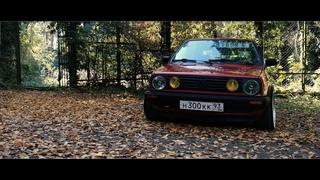Volkswagen Golf mk2 stance video by xart