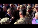 Тимошенко в Кривом роге опозорила толпа Воровка старая вали отсюда по хорошему