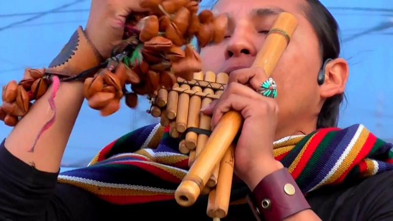 Inkas Wambra. Музыка индейцев Inty Pakarina Alpa Ecuador Spirit.