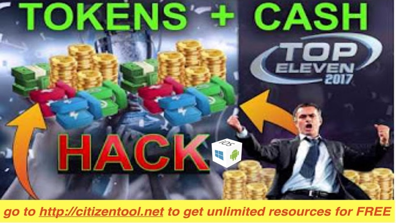 TOP ELEVEN HACK/CHEAT TOKENS CASH - HOW TO HACK FREE TOKENS CASH [ANTIBAN]