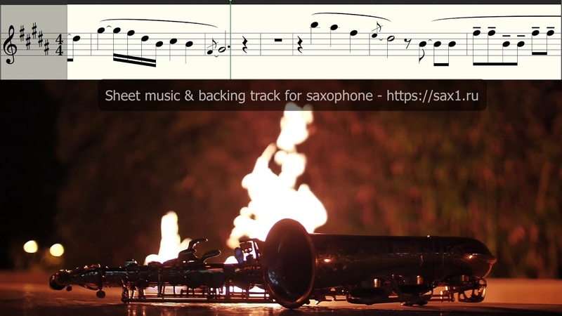 Swedish House Mafia - Don't You Worry Child (Sheet music and backing track for Saxophone Alto)