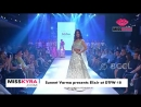Malavika Mohanan closes the finale by Suneet Varma at Delhi Times Fashion Week 2