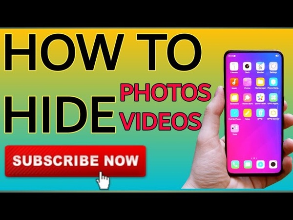 How To Hide photos, videos, audio, on your android phone easily urduhindi