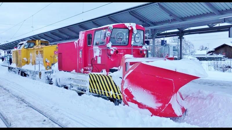 Update - Katastrophenfall in Teilen Südbayerns - Die Bahn gibt alles !!