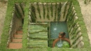 Dig To Build Most Medical Twin Pools Underground Bamboo House