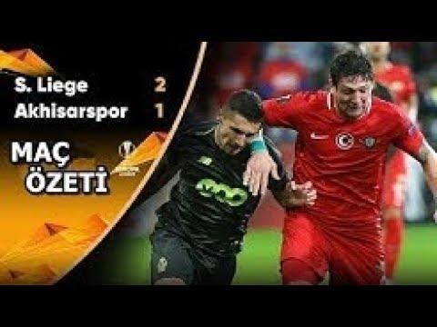 Standard Liege 2 1 Akhisarspor UEFA Avrupa Ligi Maç Özeti 04 10 2018