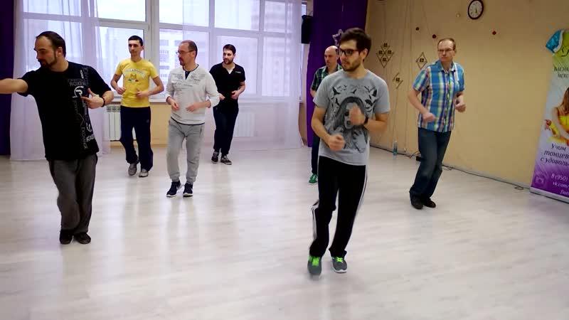 Bachata Footwor | Бачата в Омке, резюме с первого занятия по футворкам, 9.02.19, Танцевальный центр PlatinumFD, Omsk