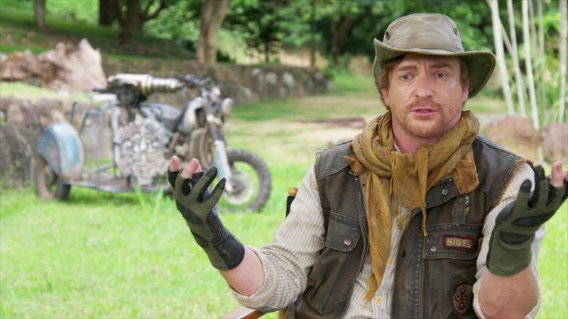 Jumanji: Welcome to the Jungle Rhys Darby - Nigel