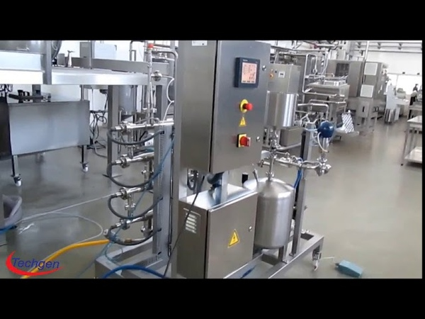 Pasteurizer- pasteurization of liquid products capacity 100 LPH