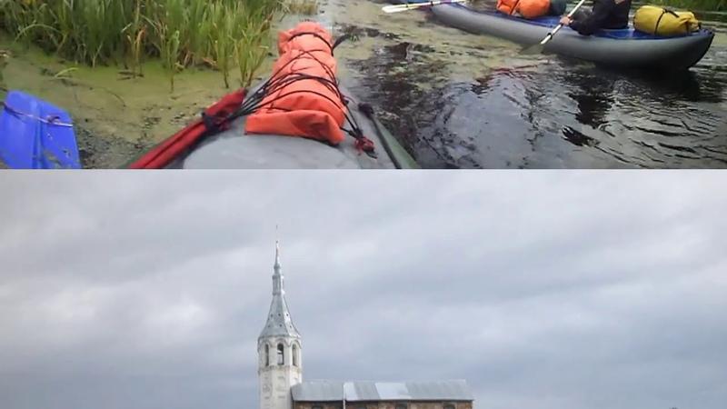 Водный поход команды Линда по рекам Тара-Мстёрка-Клязьма 2018г.