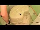 Сборка душевой кабины с пластиковой задней стенкой