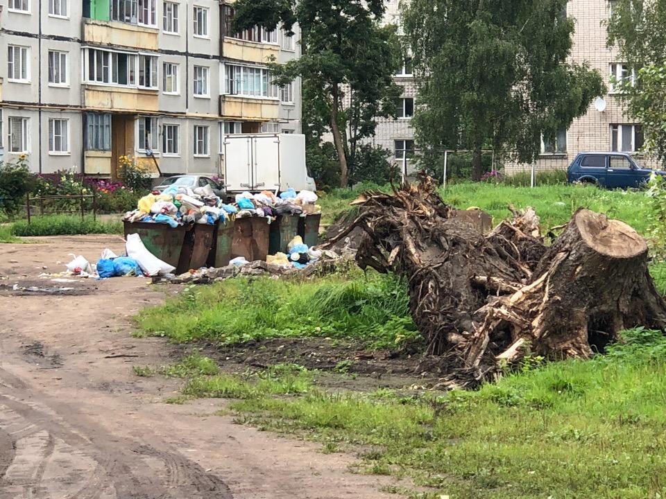 Жителей двора в Осташкове хотят утопить, в Волочке уже утопили
