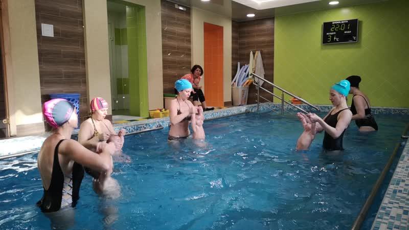 Грудничковое плавание в Детском Акваклубе