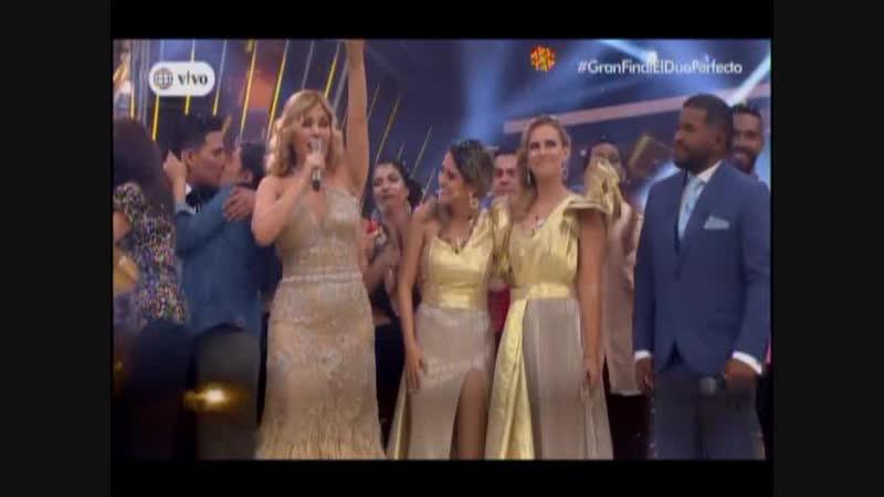 Pedro Loli y Daniela Darcourt son los Ganadores de El Duo Perfecto 2018