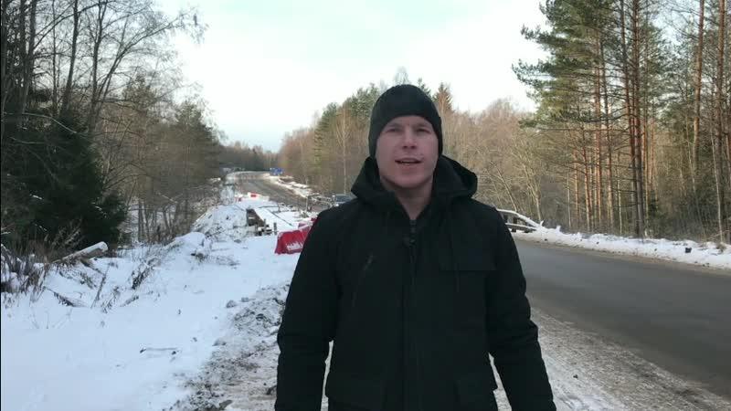 История ремонта моста в Окуловском районе Новгородской области.