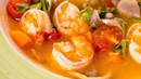 Суп Том Ям с креветками Знаменитый тайский суп