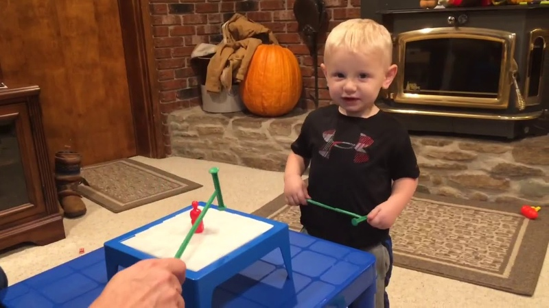 """Two Year Old Dominates """"Don't Break The Ice"""""""