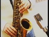 Мюзикола и Батыр. Певица и саксофон.