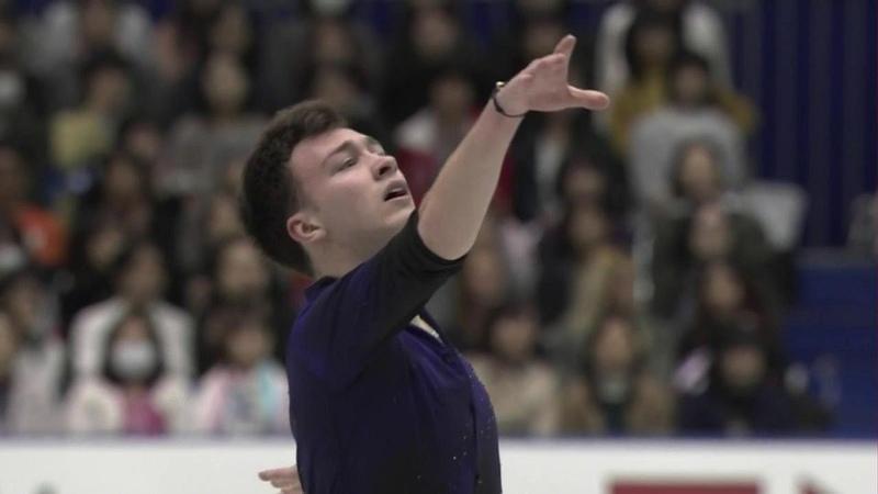 Дмитрий Алиев. Короткая программа. Мужчины. NHK Trophy. Гран-при пофигурному катанию сезона-201819