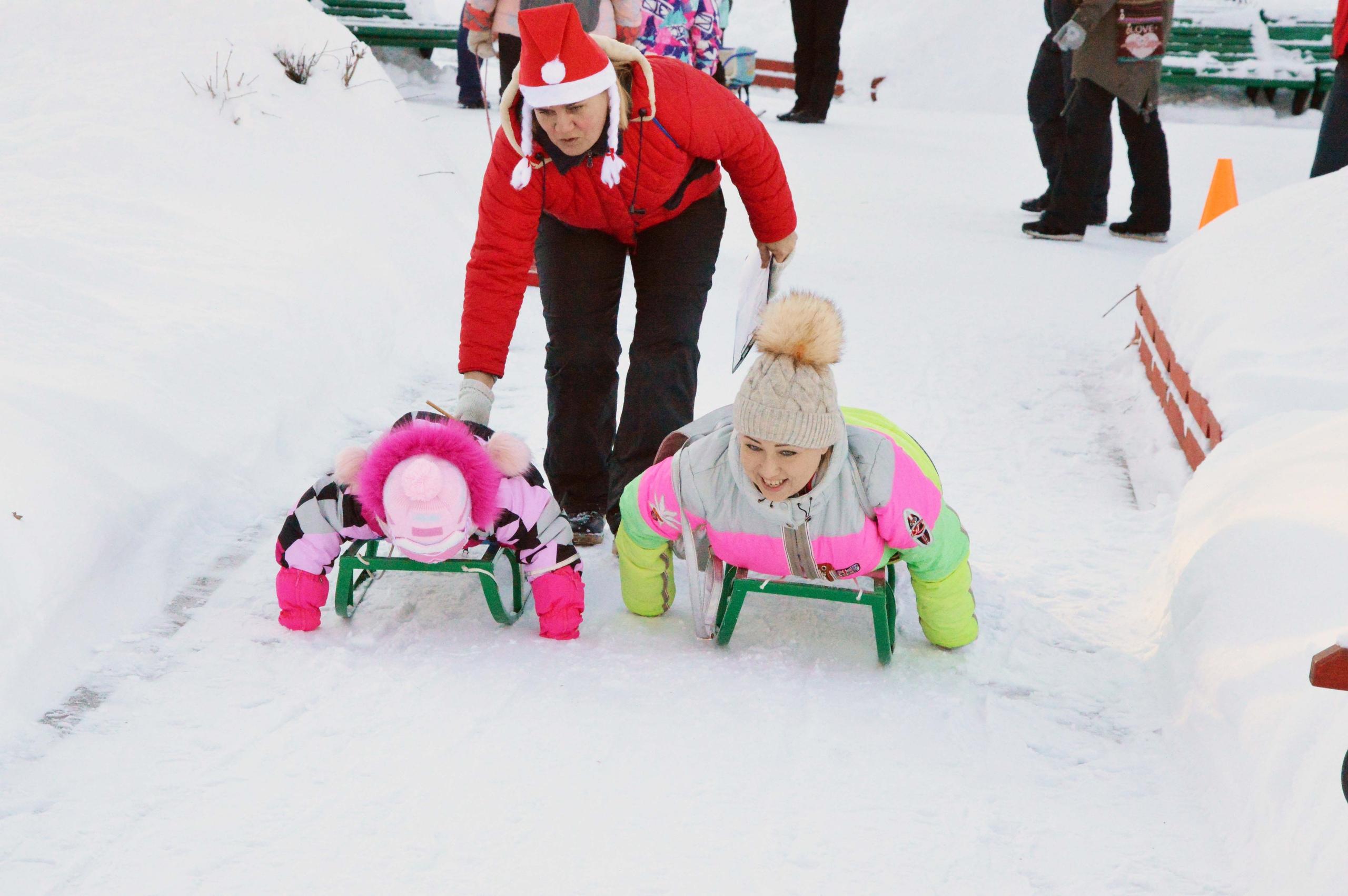 снежный фест, чайковский, 2019 год