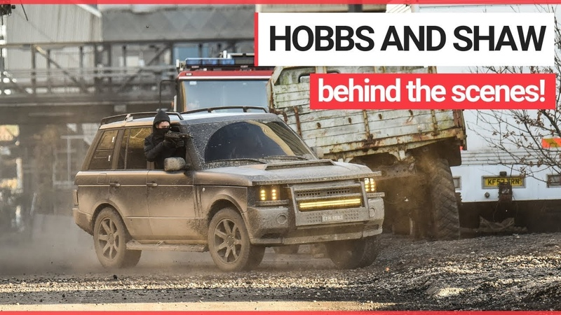 Footage from the Set of Upcoming Fast and Furious Spin-off - Hobbs and Shaw!   SWNS TV