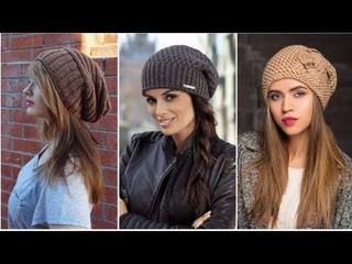 Самые модные вязаные шапки зима весна 2019