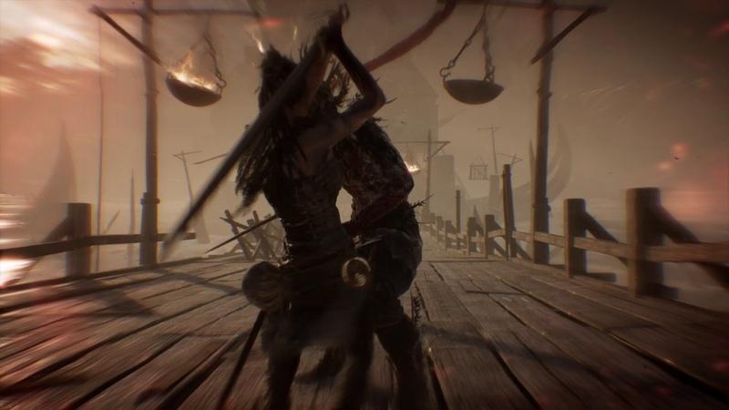 Hellblade: Senua's Sacrifice, Guardians on the bridge to Hel