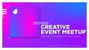 After Effects Template - Creative Event Meetup Ident - VideoHive Project