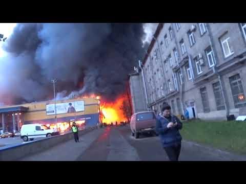 10.11.18 Горит ЛЕНТА Первые подробности Пожар в Санкт Петербург |protestas
