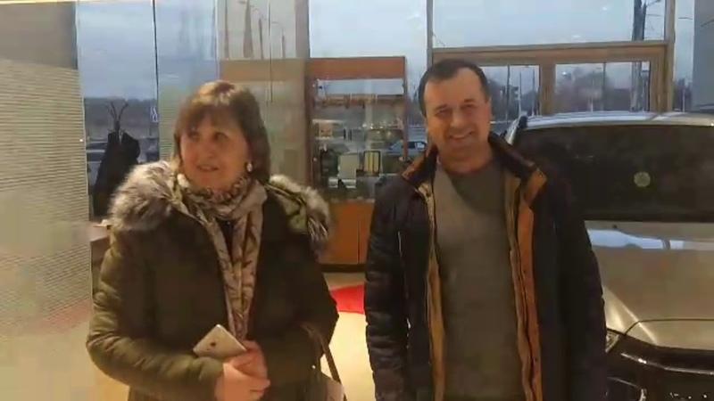Семья Кугеневых - счастливые обладатели Mitsubishi ASX