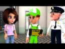 Новый мультфильм. Винтик и его друзья спасают город от спутника. Мультики про машинки