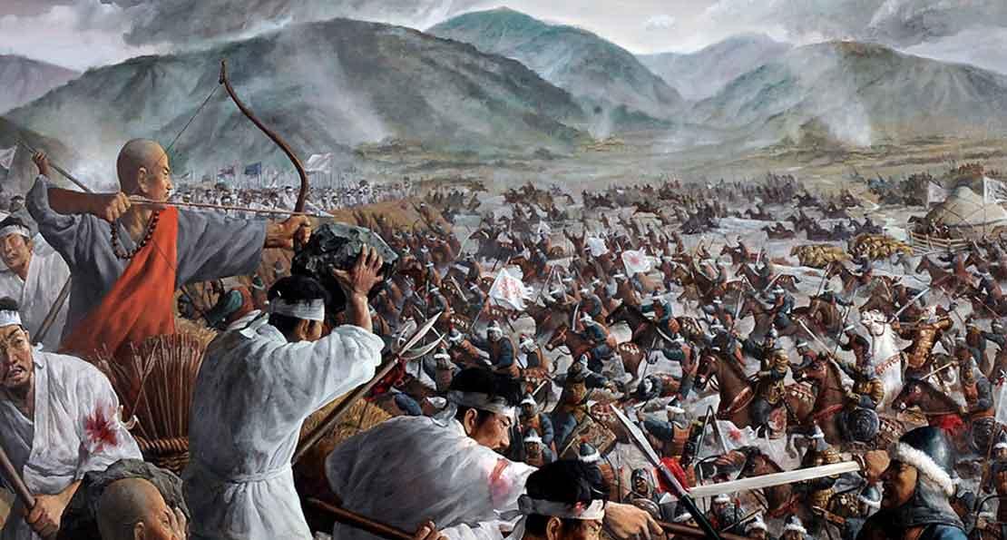 Бой китайцев с киданями