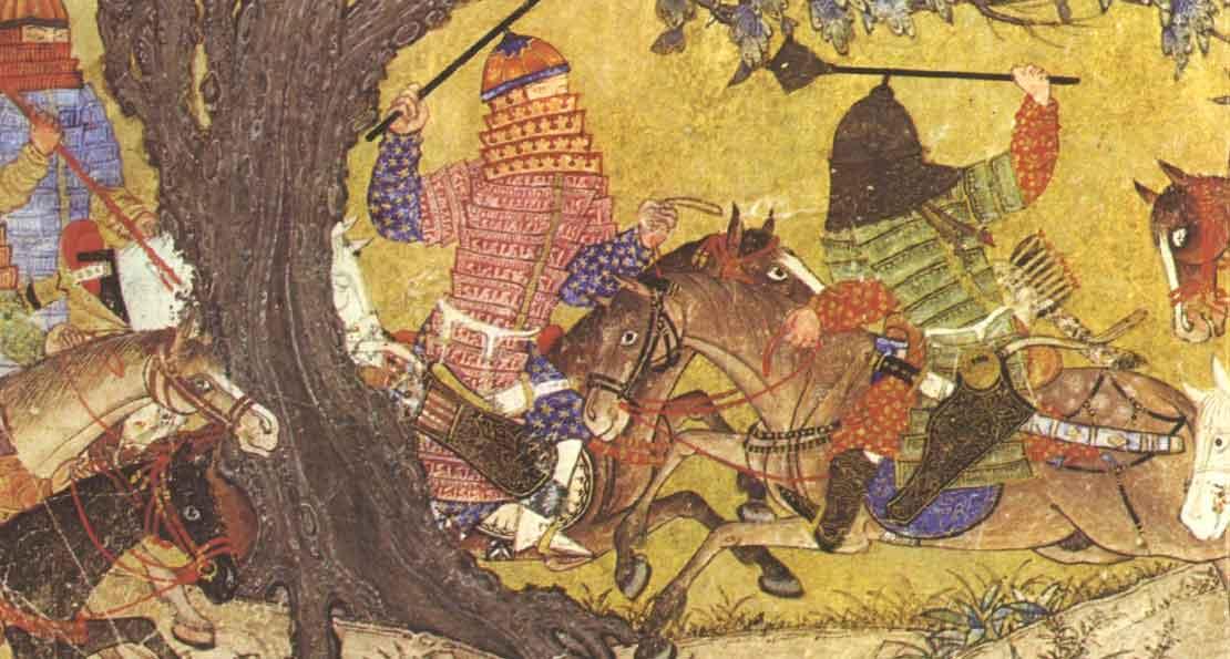 Монголы на миниатюре