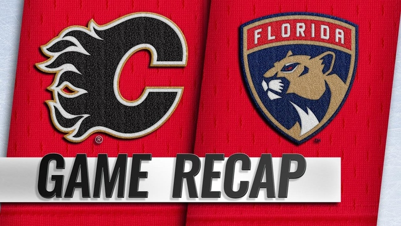 Panthers weather Flames rally to win in SO, 3-2