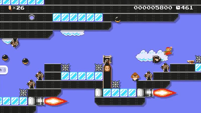 Beating Mario Makers hardest levels Team Plasmas Frigate