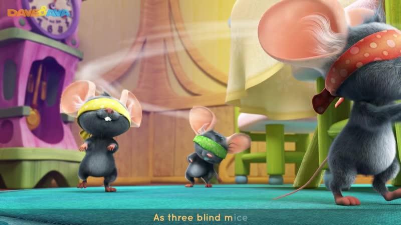 😘 Three Blind Mice ¦ Nursery Rhymes and Baby Songs 😘