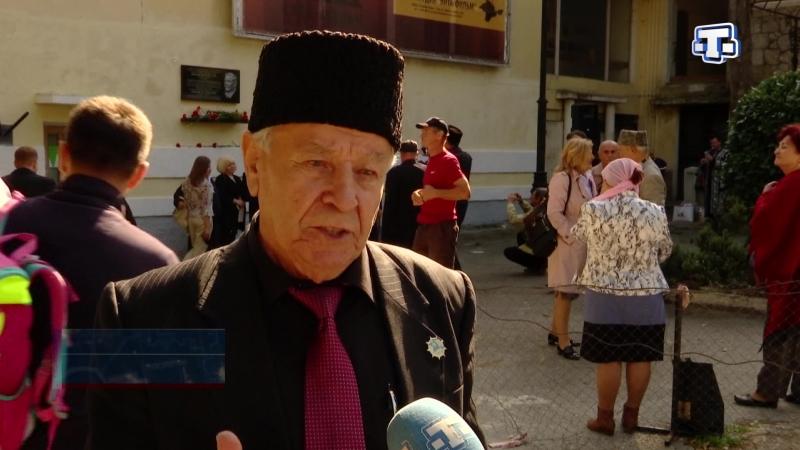 В Ялте открыли мемориальную доску известному крымскотатарскому фронтовому оператору Кенану Кутуб Заде