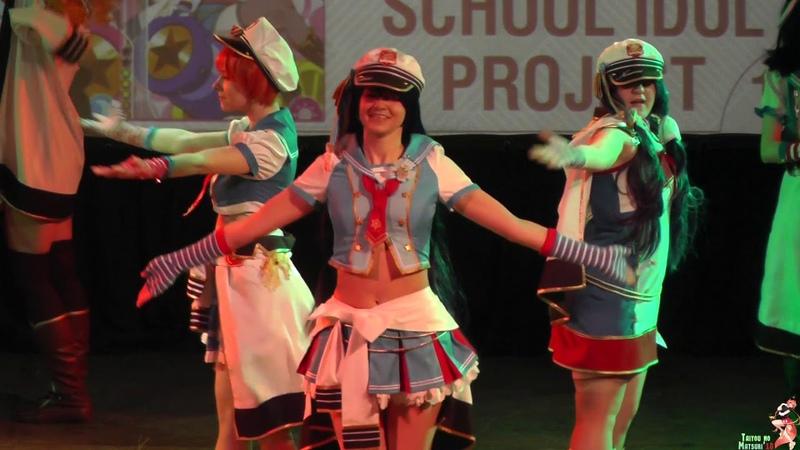 Taiyou no Matsuri 2019 Love Live! School Idol Project - Maki, Hanayo, Rin, Umi, Honoka