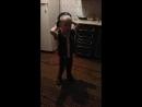 11.08.2018 Сашенька танцует в гостях у тёти Людмилы