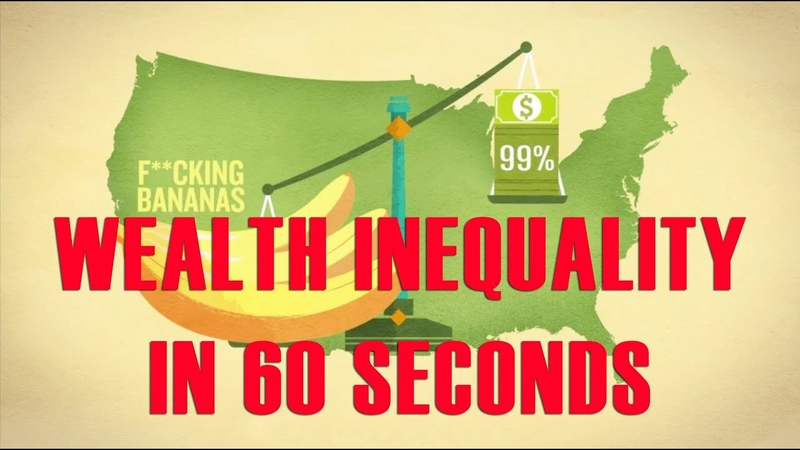 Wealth Inequality in America Explained in 60 Seconds